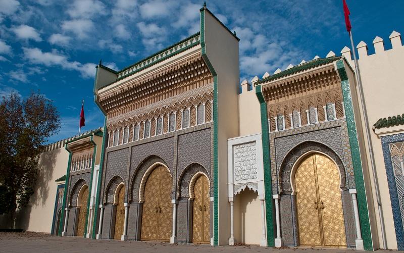 королевский дворец новая медина