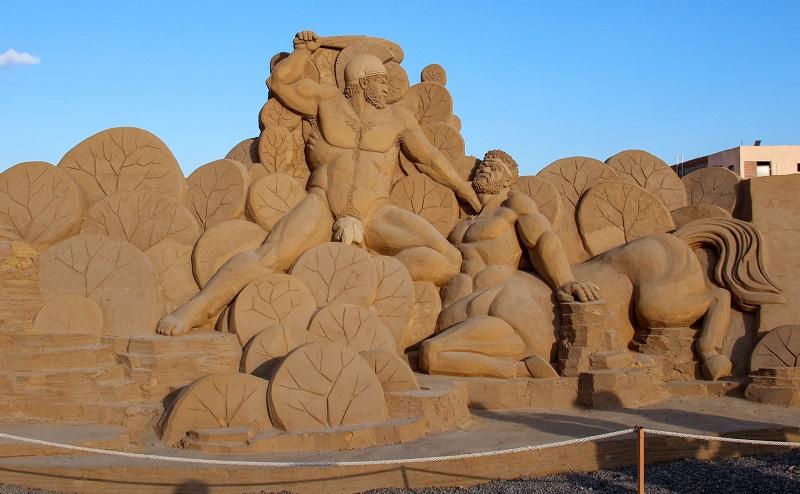 музей песочных скульптур хургада