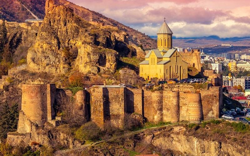 нарикала крепость в тбилиси