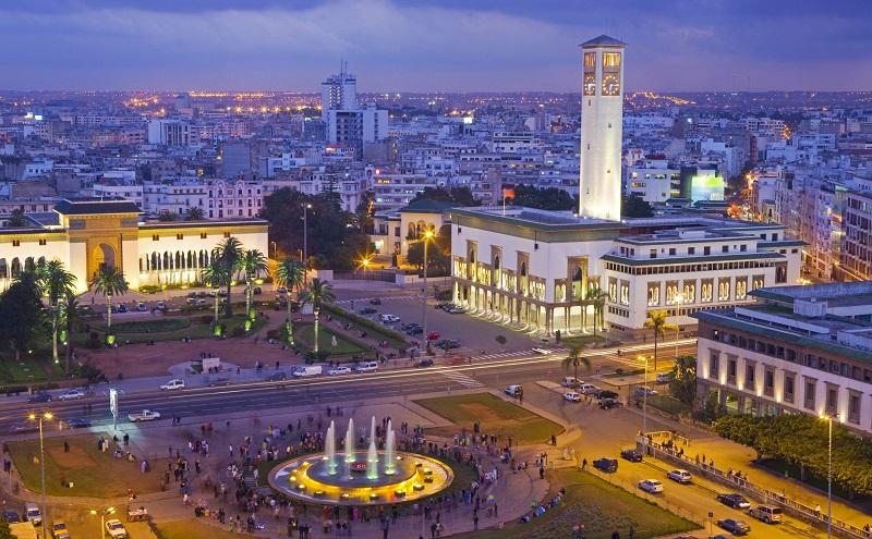 площадь мухаммеда v касабланка