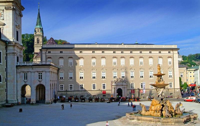 резиденция архиепископа в зальцбурге