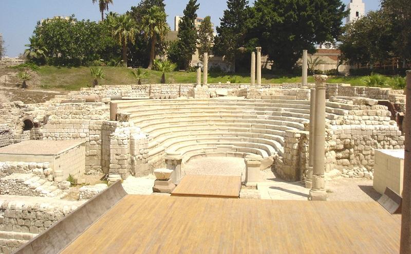 римский амфитеатр александрия