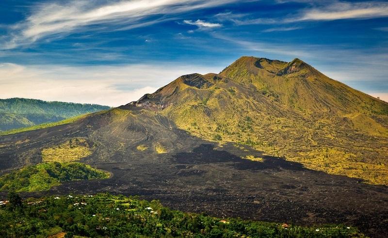 вулкан гунунг-батур