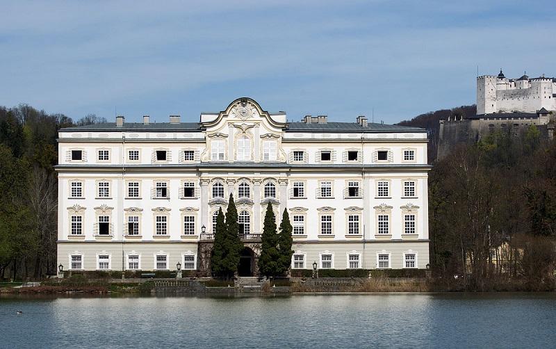 замок леопольдскрон