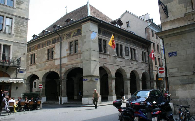 здание арсенал женева