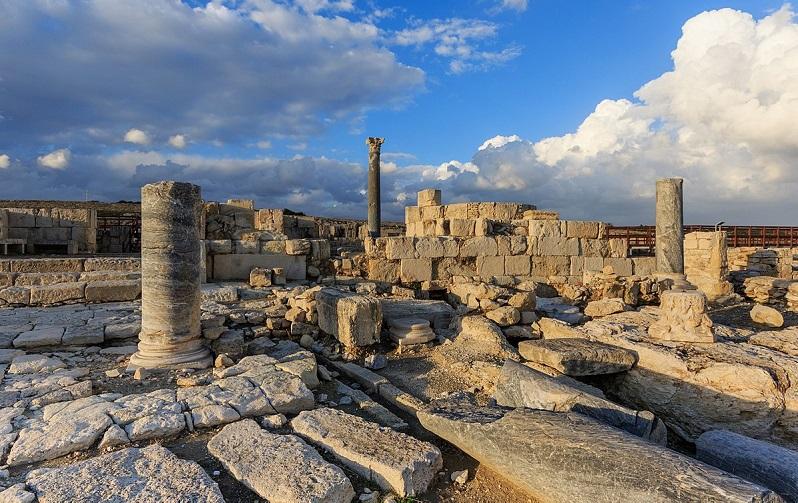 античный город курион
