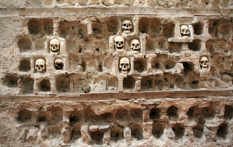 башня черепов челе-кула
