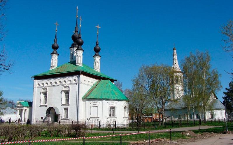 цареконстантиновская церковь в суздале