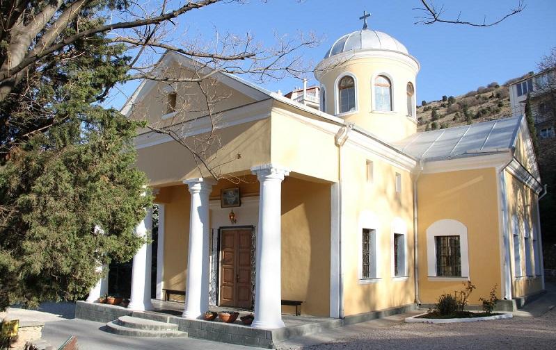 церковь двенадцати апостолов балаклава