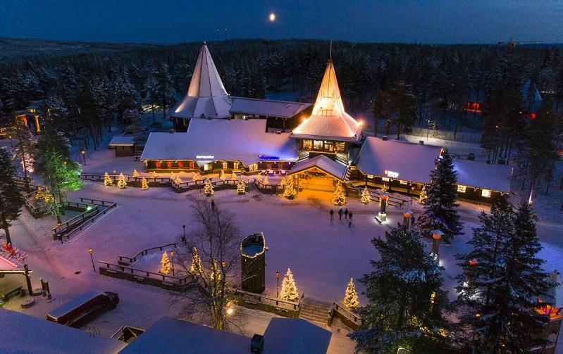 деревня санта-клауса финляндия