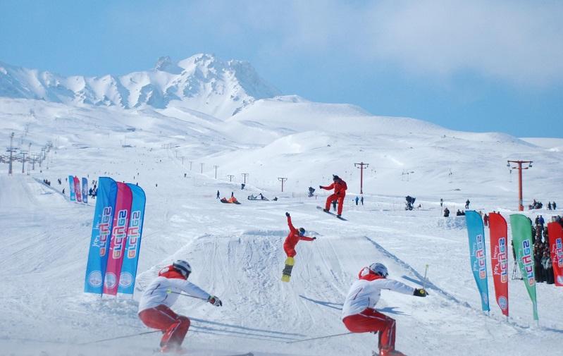 эрджиес горнолыжный курорт