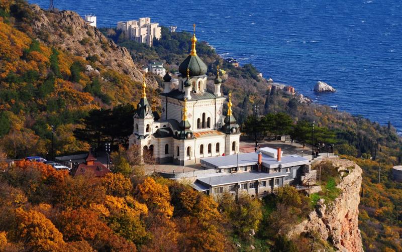 храм воскресения христова в форосе