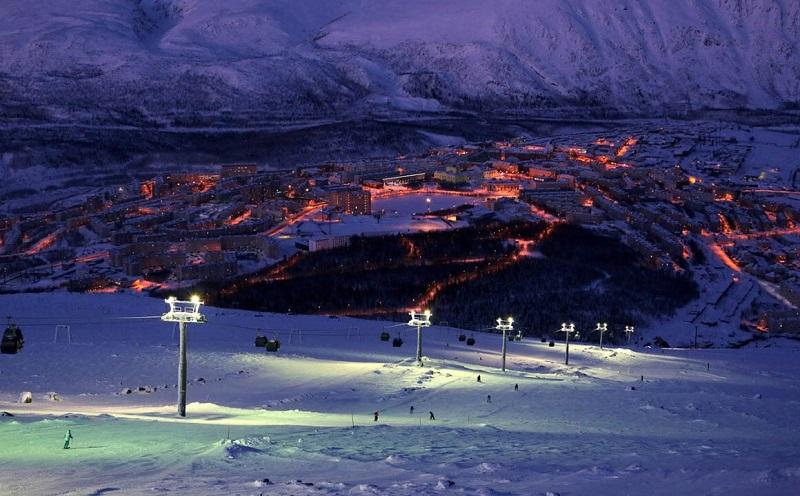 кировск горнолыжный курорт