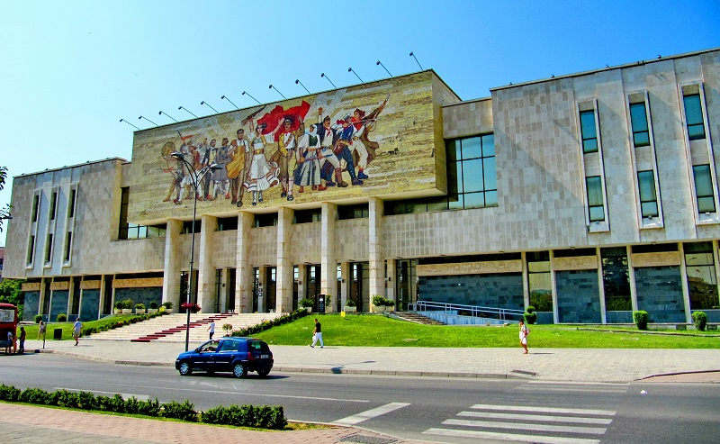 национальный исторический музей тирана