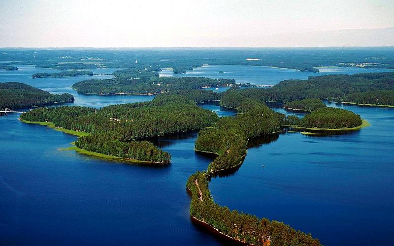 озеро сайма финляндия