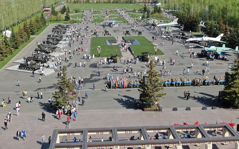 парк победы казань