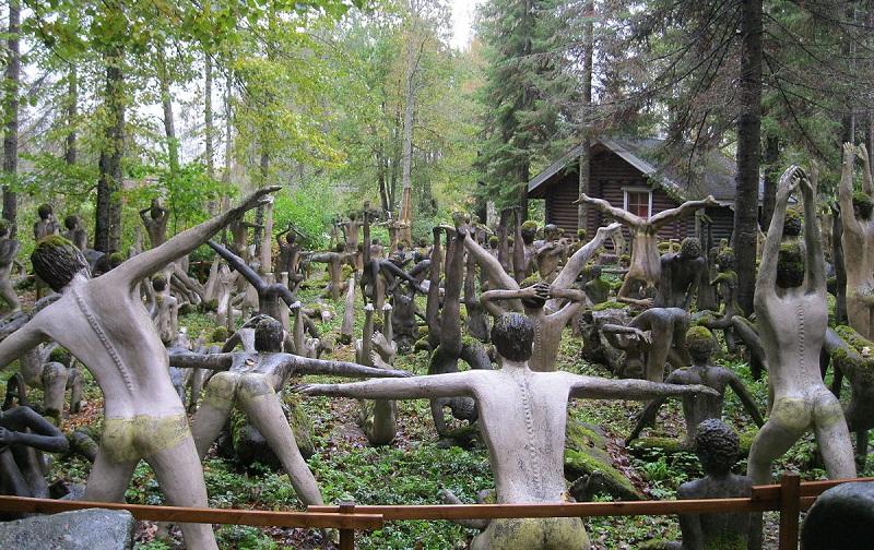 парк скульптур вейо рёнккёнена