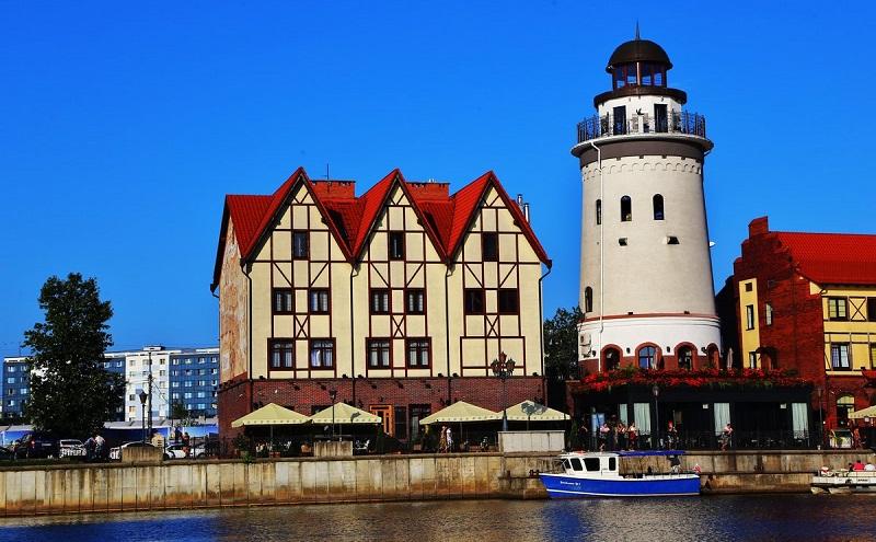 видовая башня маяк калининград