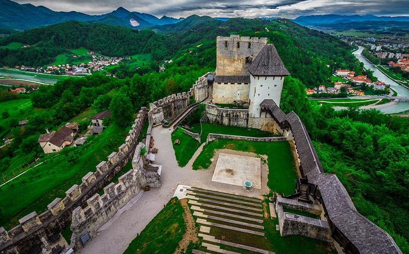 цельский замок словения
