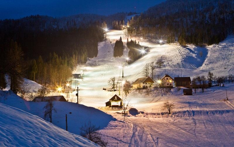 горнолыжный курорт яровник словения