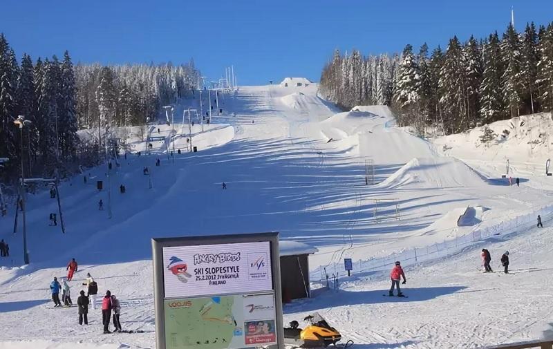 ювяскюля горнолыжный курорт