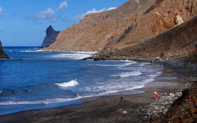 пляж бенихо тенерифе
