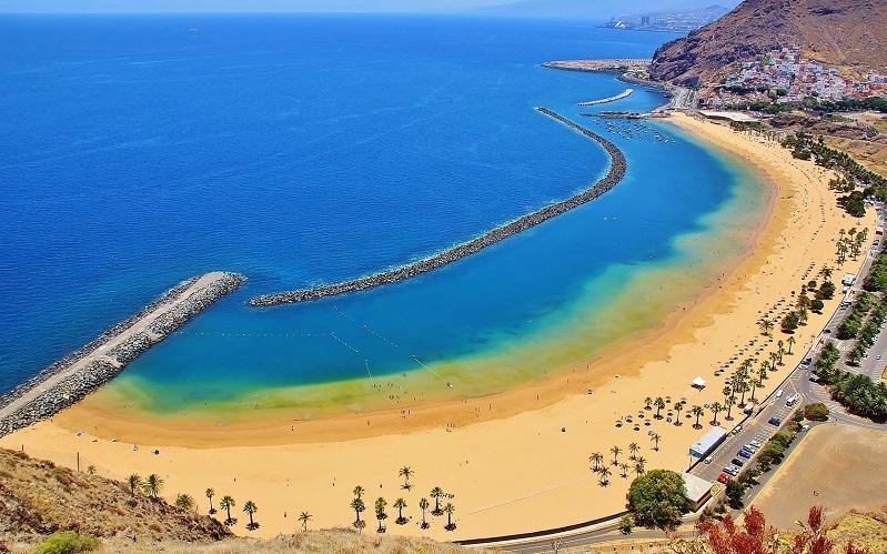 пляж лас-тереситас