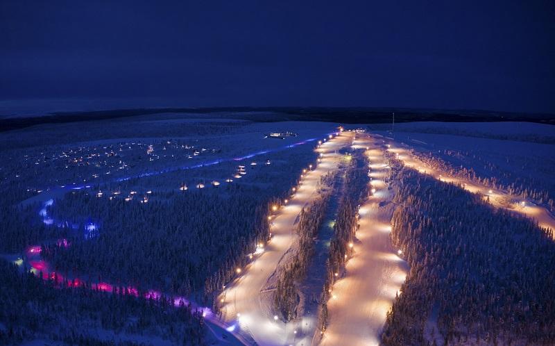 саариселькя горнолыжный курорт