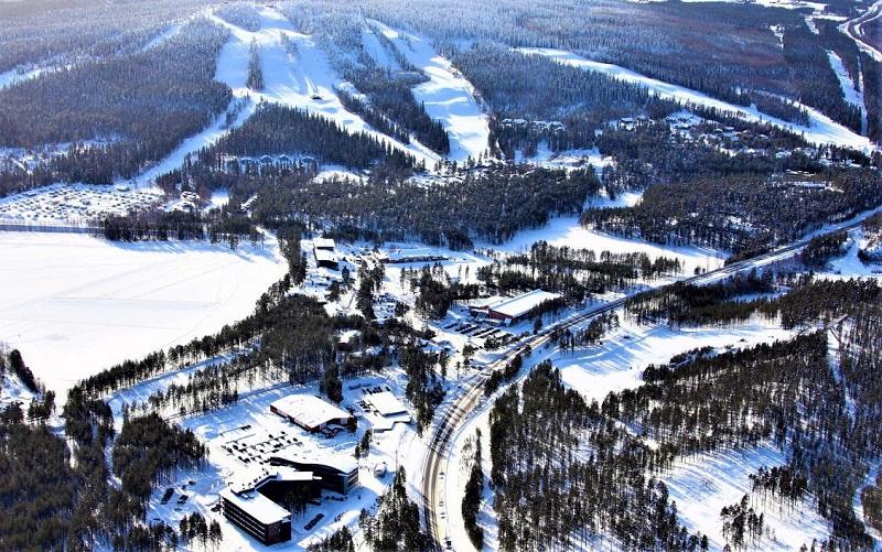 вуокатти горнолыжный курорт